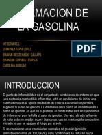 Inflamacion de La Gasolina
