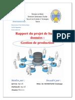 Rapport Du Projet