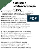 17-05-2017 Astudillo Asiste a Reunión Extraordinaria de La Conago.