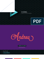 presentacion creativa animar texto en after effects