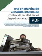 6. CC Firmas Auditoria - Puesta en Marcha