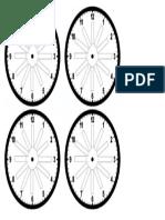 Reloj de Citas