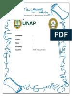 Monografia de Poblamiento Amazonico