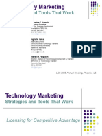 Tech Mkt Stratg and Tools That Work Les2005