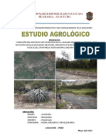 ESTUDIO AGROLOGICO