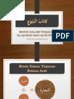 Bisnis Dalam Tinjauan Al-Quran Dan as-Sunnah