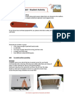 seafloor model - student activity