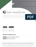 Termoslim Manual Ventilacion Directa