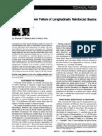 2 Size Effect in Shear Failure of Longitudinally Reinforced Beams