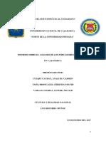 Analisis de La Pobreza en Cajamarca
