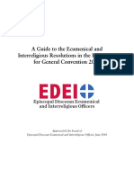 EDEIO General Convention Guide