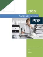 Apuntes de Auditoría Interna