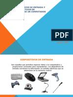 Dispositivos Básicos de Entrada y Salida y Dispositivos de Almacenamiento