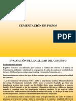 Registro de Evaluación de Cemento  CBL - VDL