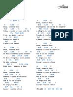 (imprimir 2, abaixo 1 tom e 1 acorde errado) Cifra Club - Paulo César Baruk - Deus Somente Deus.pdf
