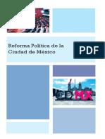 Cuadernillo Reforma Política de La CDMX