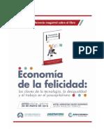 Relatoría Conferencia y Conversatorio - Economía de la felicidad