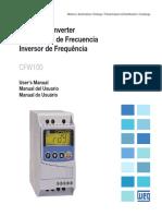 WEG Cfw100 Manual Do Usuario 10001432497 Manual Portugues Br