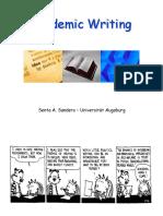 Academic Writing Session 1