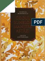 Aurelia Marinescu-Codul bunelor maniere astazi-Humanitas  (2015).pdf