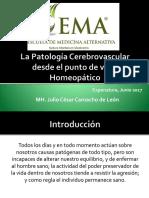 La Patología Cerebrovascular Desde El Punto de Vista Homeopático
