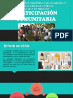 Salud Comunitaria_Participación Ciudadana
