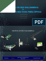 Tarjeta Inhalambrica y Optica