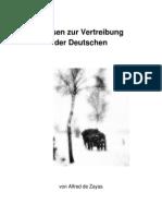 Thesen Zur Vertreibung Der Deutschen