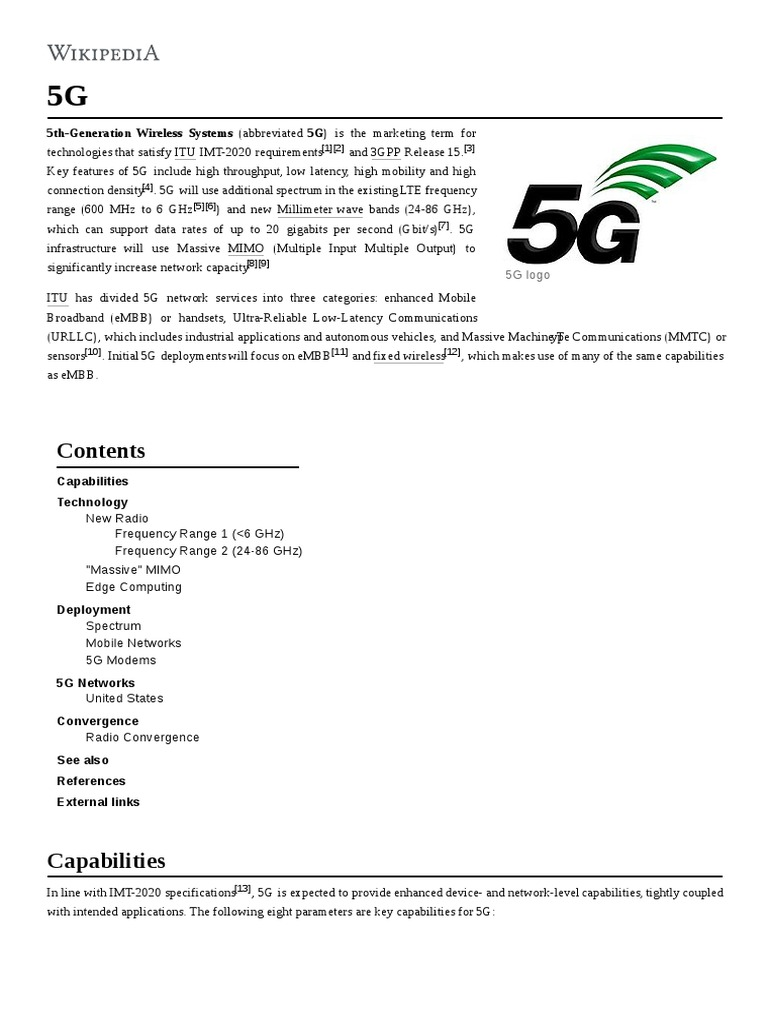 5G   Extremely High Frequency   4 G