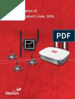 New Generation Libelium Product Lines