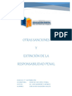 Sanciones y Extincion
