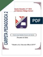 CARPETA Pedagogica 2017 Colegio Santa Rosa de Lima
