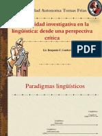 Paradigmas linguisticos