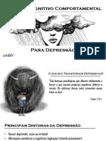 Terapia Cognitiva Comportamental e Depressão