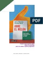 Abre El Melon