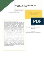 Formulación y Evaluación de Proyectos unidad 5 y 6.