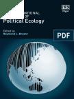 Bryant, R.L. the International Handbook of Political Ecology