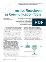Flow Sheets as Communication Tools