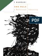 (the W. E. B. Du Bois Lectures) Mahmood Mamdani-Define and Rule_ Native as Political Identity-Harvard University Press (2012)