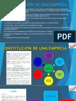 Constitucion de Una Empresa Trabajo