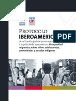 Protocolo Iberoamericano de actuación judicial para mejorar el acceso a la justcia.pdf