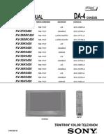 SONY WEGA KV-29DRC420 HS420 DA-4.pdf