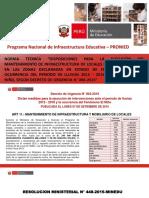 1 Ppt Norma de Mantenimiento 2015 Segun Decreto de Urgencia Final