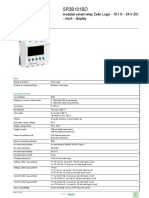 Smart Relay - Zelio Logic SR2_SR3_SR3B101BD Product Datasheet
