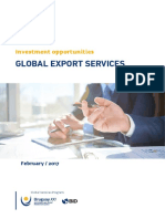 Global Export Services Uruguay XXI February 2017