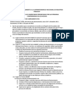 Auditoria de Cumplimiento a La Superintendencia Nacioanal de Registros Públicos