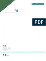 Monitor Fetal- F3- Manual de Servicio- Versión 1.0- Jul-10