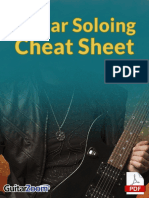 Guitar Soloing Cheat Sheet TAB Book ONLINE EB GSMC