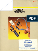 1986 NEC Linear Products