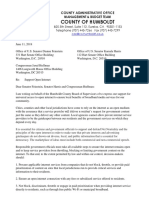 Humboldt County net neutrality support letter